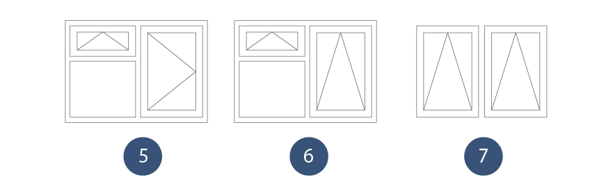 Window shapes for Types of window shapes